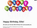Birthday Cards Through Email How to Wish the Marketing Geek In Your Life A Happy Birthday