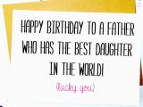 Birthday Cards to Dad From Daughter Funny Father Daughter Birthday Card Birthday by Lailamedesigns
