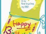 Birthday Cards to Dad From Daughter Happy Birthday Dad Free Birthday Greetings Cards