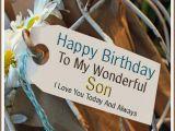 Birthday Cards to My son Happy Birthday to My Wonderful son I Love You Happy
