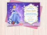 Birthday Cards to Print Off at Home Cinderella Birthday Invitations Free Thank You Cards to