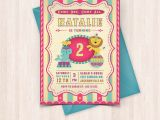 Birthday Cards to Print Off at Home Printable Circus Birthday Invitations Free Thank You Cards