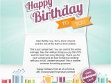 Birthday Cards to Send by Email Corporate Birthday Ecards Employees Clients Happy