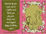Birthday Cards to son From Mother Birthday Wishes for Mother 365greetings Com