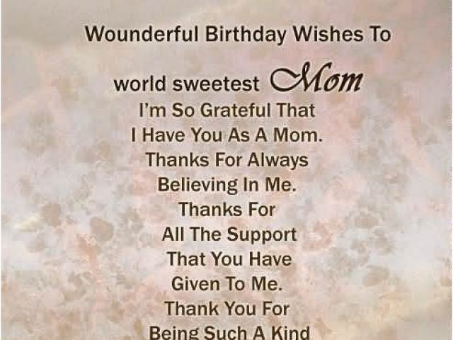 Birthday Cards To Son From Mother Birthday Wishes For Mother Page 6