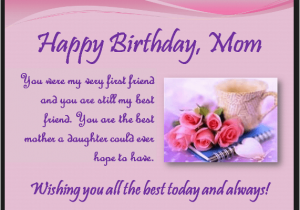 Birthday Cards To Son From Mother Heart Touching 107 Happy Mom Quotes Daughter