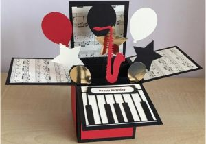 Birthday Cards With A Piano Theme Handmade Card In Box Special Best Teacher Happy