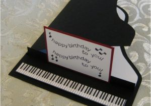 Birthday Cards With A Piano Theme Card By Lpratt At Splitcoaststampers