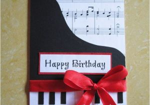 Birthday Cards With A Piano Theme Happy Card Music Themed Greeting