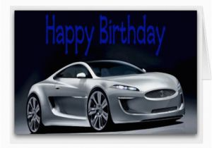Birthday Cards with Cars On them Cool Sports Car Birthday Card Zazzle