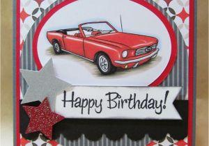 Birthday Cards with Cars On them Savvy Handmade Cards Classic Car Birthday Card