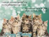 Birthday Cards with Cats Singing Singing Birthday Kitties Free Happy Birthday Ecards
