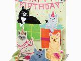 Birthday Cards with Cats Singing Singing Cats Happy Birthday Card Bas Bleu Uq3512
