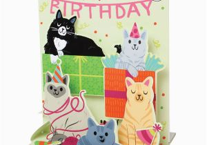 Birthday Cards With Cats Singing Happy Card Bas Bleu Uq3512
