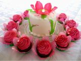 Birthday Cards with Flowers and Cake Happy Birthday Flower Images with Cake Flower Cake Pictures