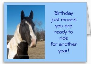Birthday Cards with Horses On them Free Horse E Birthday Cards Horse Birthday Card