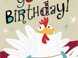Birthday Cards with Name and Music Chicken and Accordion Musical Birthday Card Greeting