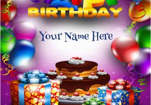 Birthday Cards With Name And Photo Upload Free Create Card 8 Happy