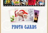 Birthday Cards with Name and Photo Upload Free Create Photo Card Online Holiday Photo Cards Custom