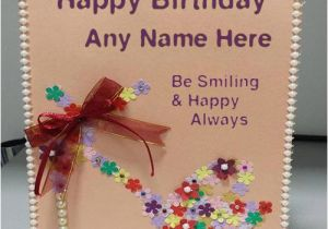 Birthday Cards With Name And Photo Upload Free Wish Your Friend Greeting