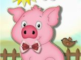 Birthday Cards with Pigs Pig Birthday Quotes Quotesgram