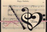 Birthday Cards with songs Iiiii Happy Birthday Music Clarinet Birthday Card