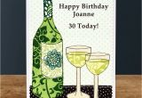 Birthday Cards with Wine 39 Wine 39 Personalised Birthday Card by Jenny Arnott Cards