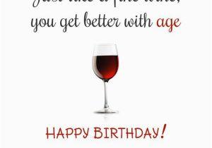 Birthday Cards With Wine Wine Lover Birthday Card BirthdayBuzz