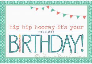 Birthday Cards You Can Print Out Happy Printable Card Pdf By Peanutpresscreative