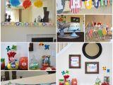 Birthday Celebration Decoration Items Elijah S First Birthday A Colorful Celebration
