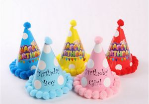Birthday Decoration Items Online Party Celebration Korean Cute Hats Hat