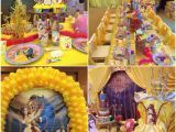 Birthday Decoration Stores Beauty and the Beast themed Birthday Party Ideas Tashie