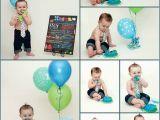 Birthday Decorations for 1 Year Old Boy Cake Smash First Birthday Baby Boy Birthday Party One