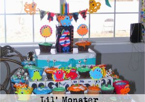 Birthday Decorations For 1 Year Old Boy Little Monster Bash Party Ideas Everyday Mom