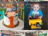Birthday Decorations for 1 Year Old Boy Quot Everything Goes Quot theme 1 Year Old Birthday Party