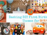 Birthday Decorations for Boys 1st Birthday 43 Dashing Diy Boy First Birthday themes