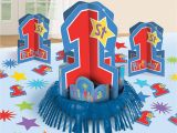 Birthday Decorations for Boys 1st Birthday Boys First Birthday Party Table Centerpieces Birthday Wikii