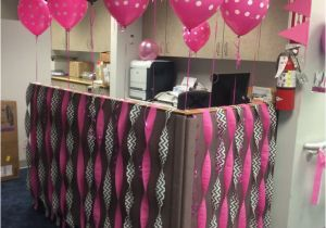 Birthday Decorations For Cubicles Pin By Carolyn Conner On Decorating At Work Pinterest