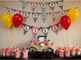 Birthday Decorations Ideas for Adults Kara 39 S Party Ideas Vintage Movie Boy Girl Family Adult