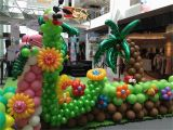 Birthday Decorations Online Shopping Balloon Garden Project In Shopping Mall that Balloons