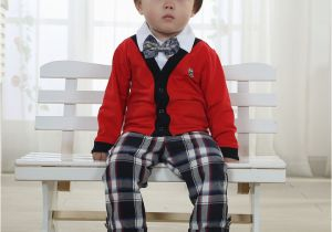 Birthday Dresses For 1 Year Old Boy Baby Set Spring And Autumn Clothes Male