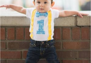 Birthday Dresses For 1 Year Old Boy Items Similar To First Bodysuit Boys