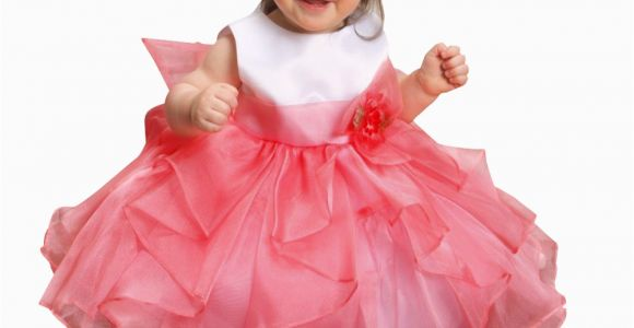 Birthday Dresses for toddler Girls Sweet Flower Layered organza Ruffle Dress Baby Girl Summer