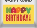 Birthday E-gift Cards Birthday E Gift Cards 1 Card Design Ideas
