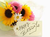 Birthday Flower Card Message A Flower Blog About Flowers Plants Gifting