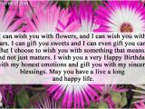 Birthday Flower Card Message Birthday Card Messages