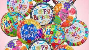Birthday Flowers and Balloons Pictures Birthday Mylar Balloon Bouquet Kremp Com