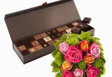 Birthday Flowers and Chocolates Delivery Chocol Happy Birthday Roses Bouquet Delivery In