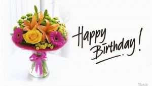 Birthday Flowers Buke Happy Birthday with Gift Of Buke Hd Wallpaper