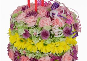 Birthday Flowers Delivery Usa Gifts Happy Flower Cake